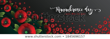 Paper Floral Tribute  Stock photo © bedo