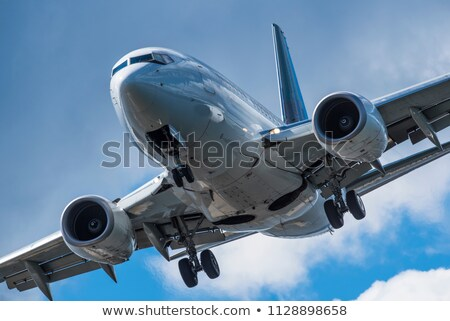 passenger aircraft is landing Stock photo © ssuaphoto