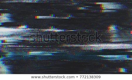 デジタル · テレビ · テレビ · 画面 · 正方形 · 静的 - ストックフォト © sarts