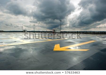 Rain drops on blacktop Stock photo © carenas1