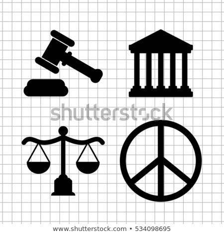 Comunidad justicia ley abogado servicios inmigración Foto stock © Lightsource