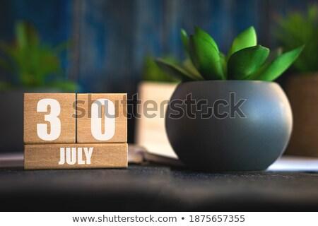 cubes 30th july stock photo © oakozhan