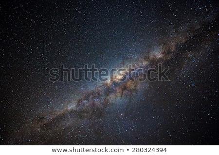 молочный · способом · галактики · пейзаж · луна · пространстве - Сток-фото © juhku