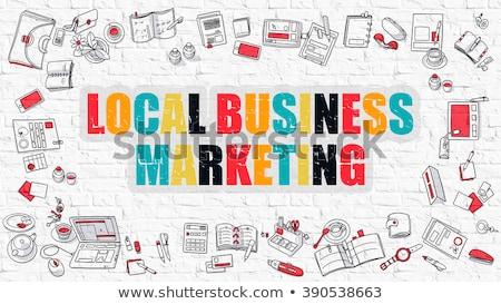 бизнеса оптимизация белый современный стиль иллюстрация Сток-фото © tashatuvango