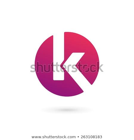 k letter arrow logo Stock photo © meisuseno