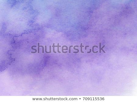absztrakt · lila · vízfesték · textúra · kéz · festék - stock fotó © margolana