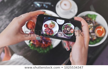 Cooked mobile Stock photo © sifis