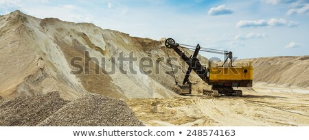 Dredge in sandy to career stock photo © nemalo
