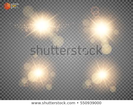 sun light bokeh lens Stock photo © romvo