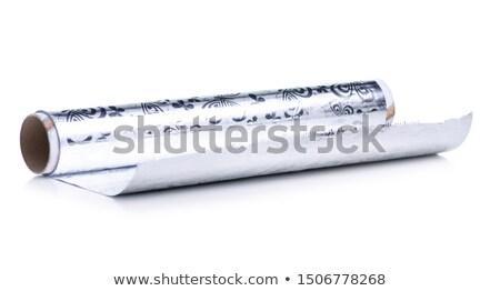 Papier défiler réflexion blanche Photo stock © ordogz