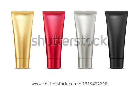 creme · recipiente · vetor · conjunto · plástico · jarra - foto stock © robuart