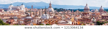 Rome city skyline Stock photo © jossdiim