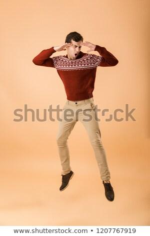 写真 魅力的な 男 20歳代 剛毛 ストックフォト © deandrobot