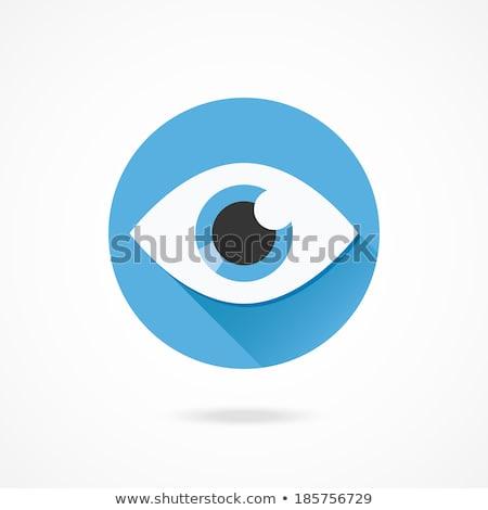 глаза · форма · икона · аннотация · прозрачный - Сток-фото © imaagio