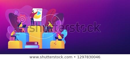 internal education concept banner header stock photo © rastudio
