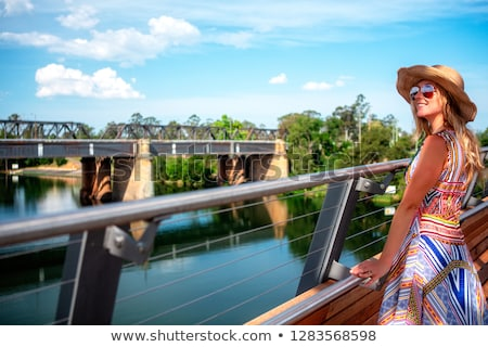 Scenic views of the Nepean River Penrith Stock photo © lovleah