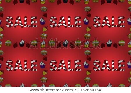 Rouge noir rectangulaire lettre i résumé Photo stock © cidepix