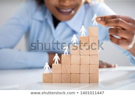 Witte menselijke leidend top Stockfoto © AndreyPopov