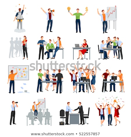 Business Startup People Successful Teamwork Set Stock photo © robuart