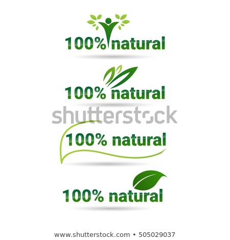 Bio Production, Fresh and Organic Products Logo Stock photo © robuart