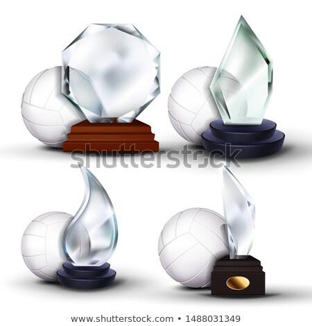 fútbol · anunciante · jugadores · aficionados · grunge · deporte - foto stock © pikepicture