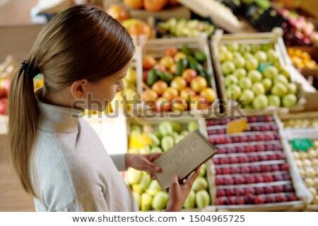 mooie · kopen · store · kleur · afbeelding - stockfoto © pressmaster