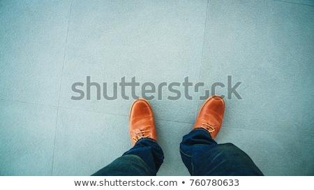Ayaklar granit zemin doku taş karo Stok fotoğraf © ShustrikS