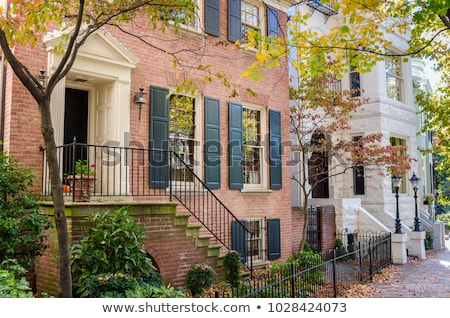 Detail of residential house in historical neighborhood Stock photo © Anneleven