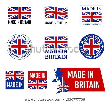 bandeira · botão · ícone · moderno · vetor · mapa - foto stock © orson