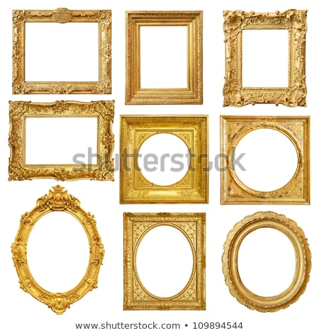 Yellow Picture Frame Stock photo © adamr