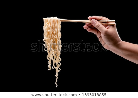 noodles with chopstick Stock photo © get4net