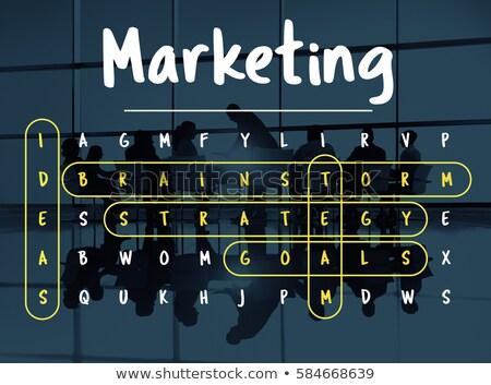 affaires · succès · travaux · journal · fond · affaires - photo stock © nasirkhan