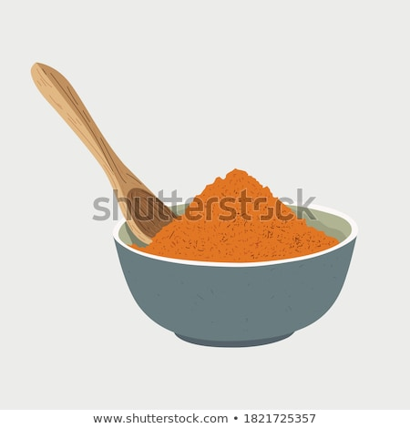 Stock photo: Dried red pepper