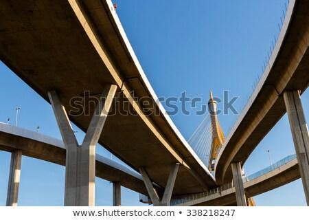 バンコク · 橋 · 産業 · リング · 夕暮れ - ストックフォト © vichie81
