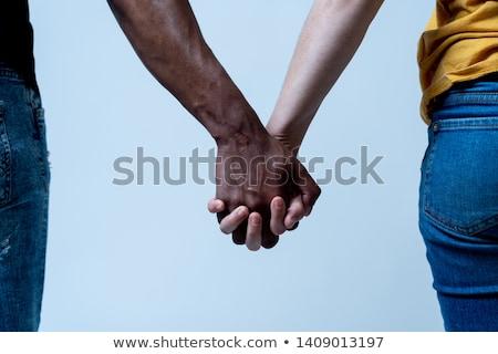 人種差別 世界 シルエット 多くの 人 異なる ストックフォト © xedos45