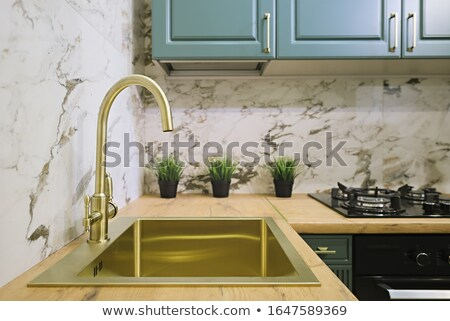 faucet and sink stock photo © donatas1205