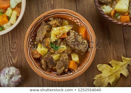 Turnip Stew Stok fotoğraf © Fanfo