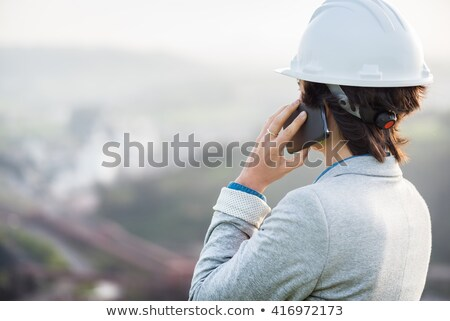 Concerned construction worker Stock photo © photography33