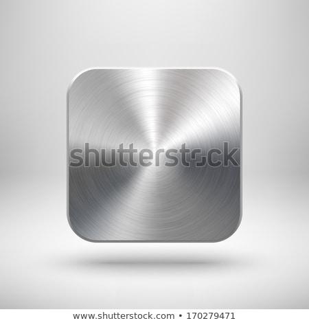 Platino icone abstract icone web generale Foto d'archivio © Vectorminator