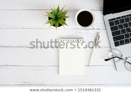 vintage blank notepad stock photo © thp