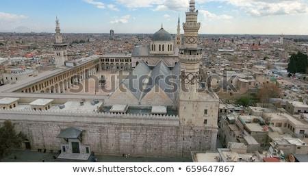 Síria · céu · edifício · cidade · rua · urbano - foto stock © travelphotography