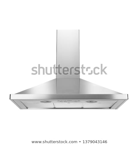 Kitchen hood on white background Stock photo © ozaiachin