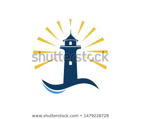 Baken licht business succes symbool leiderschap Stockfoto © Lightsource