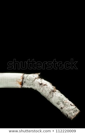 Sigara siyah basın uyarı risk Stok fotoğraf © wavebreak_media