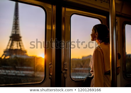 young woman in paris metro stock photo © kyolshin