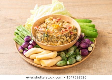 pasta · polpo · pomodorini · piatto · alimentare · mangiare - foto d'archivio © elmiko