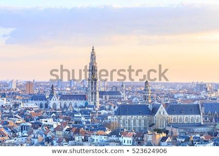 Antwerp belgium skyline Stock photo © compuinfoto