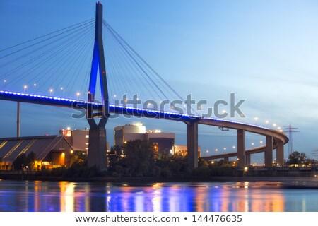 Hamburg Koehlbrand Bridge  Stock photo © LianeM