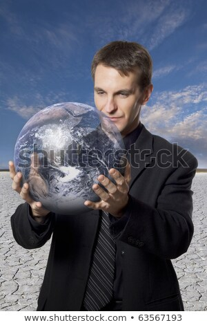 Environmental Concern And Business Travel Stock photo © idesign