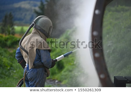 Tradesman on the ground Stock photo © photography33